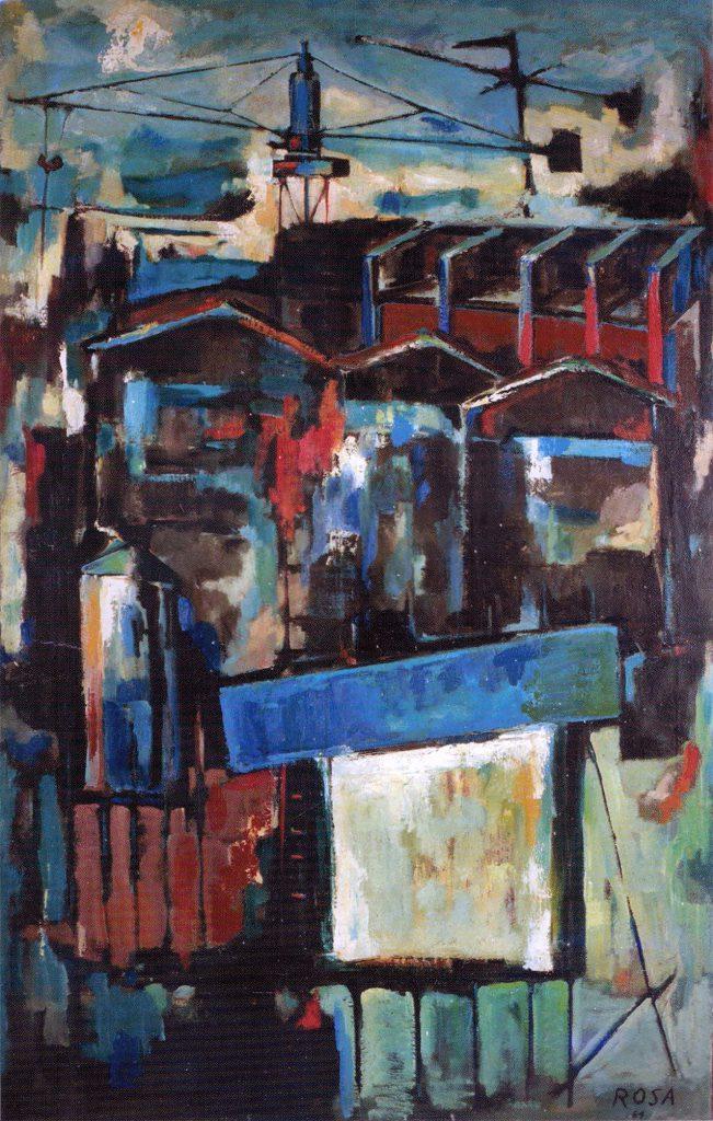 Cartiera del Sole in costruzione, 1964 -108x170
