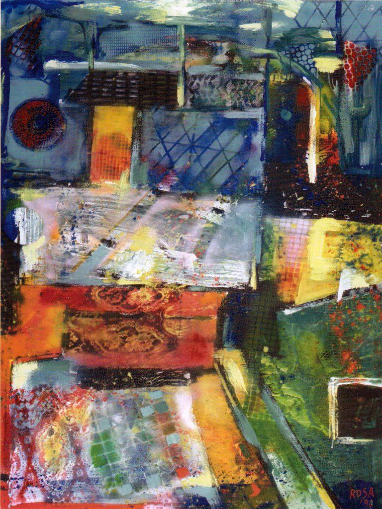 Astratto, 1996 - 120x160
