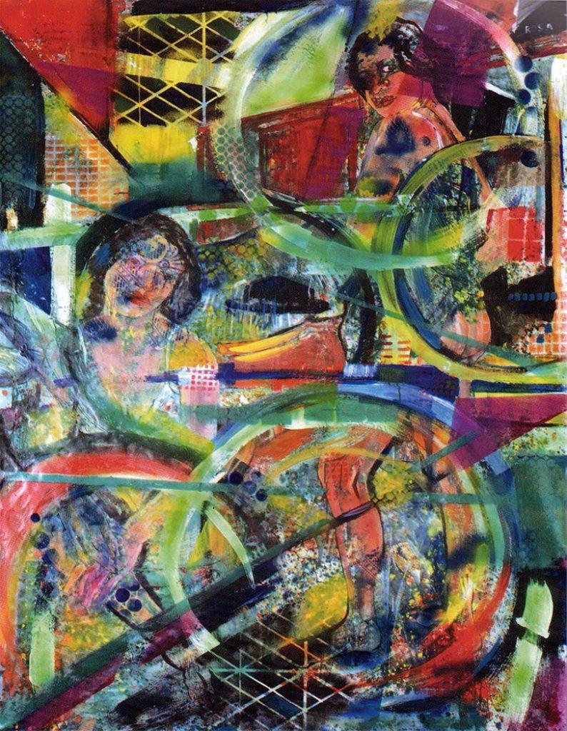 Nudi, 1996 - 130x178