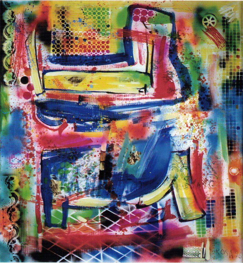 Astratto, 1996 - 20x130