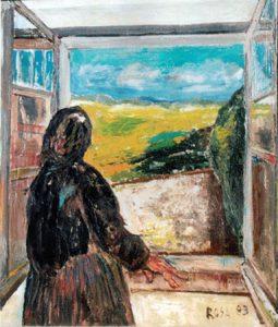 Alla finestra, 1983 - 84x100