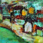 Paesaggio slavo - 48x62