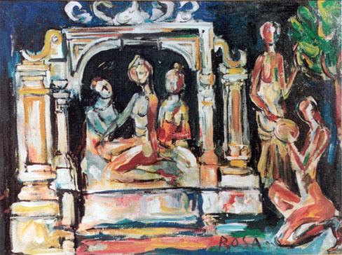 Rituale, 1983 - 80x60