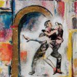 Danzatori, 1994 - 100x120