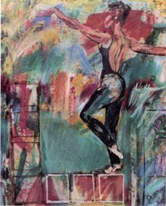 Danzatrice, 1994 - 100x120