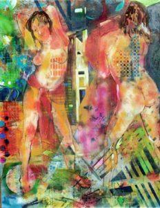 Nudi, 1996 - 120x140
