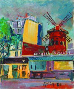 Viaggio a Parigi, 1981- 50x60