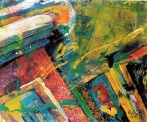 Particolare indoor, 2003 - 100x80