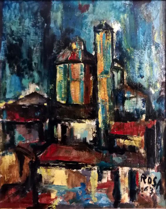Armida, Paesaggio - 1963