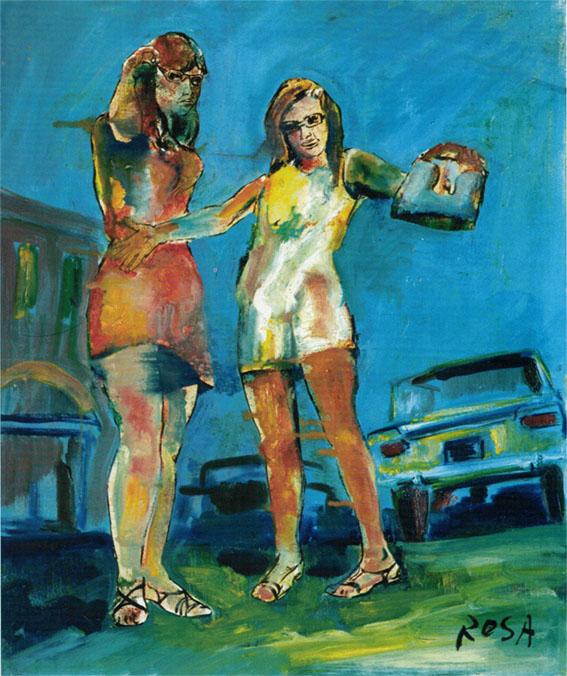 Autostop, 1967 - 50x60