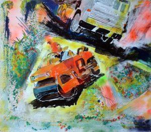 Il cantiere - 1999 - 145x125
