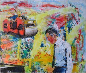 24-Il cantiere, 1999 - 145x125