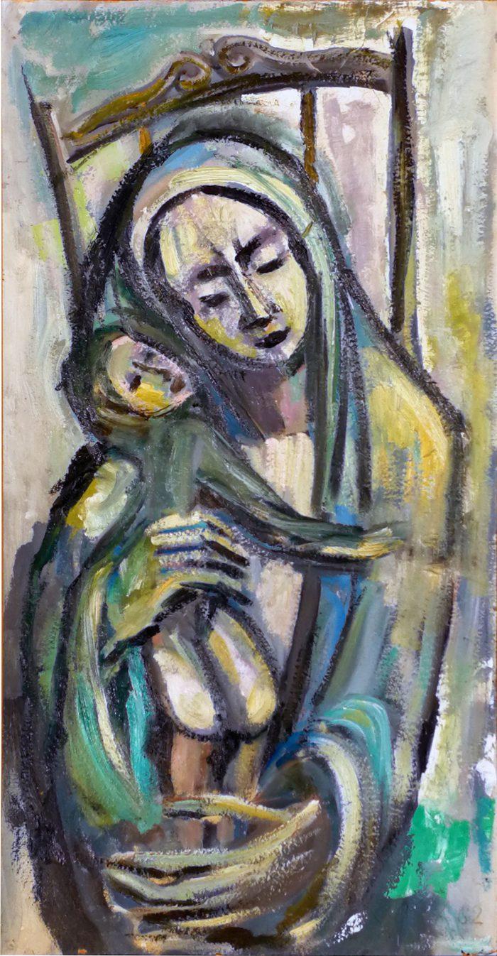 Soggetto sacro - Madonna con Bambino