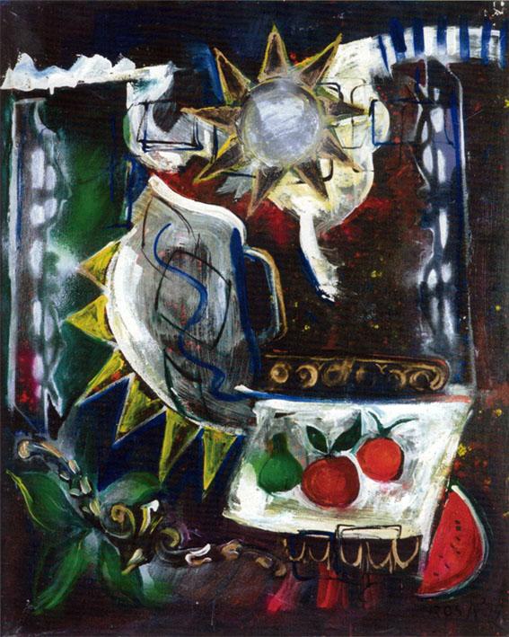 Natura morta, 1994 - 80x100
