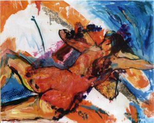 Nudo, 2002 - 100x80