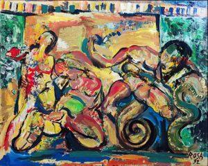 Pergamo_1, 1992 - 100x80