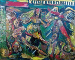 Pergamo_3, 1992 - 100x80