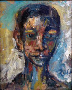 Ritratto di ignoto, 1983 - 22x275