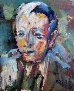 Ritratto di ignoto, 1984 - 26x32