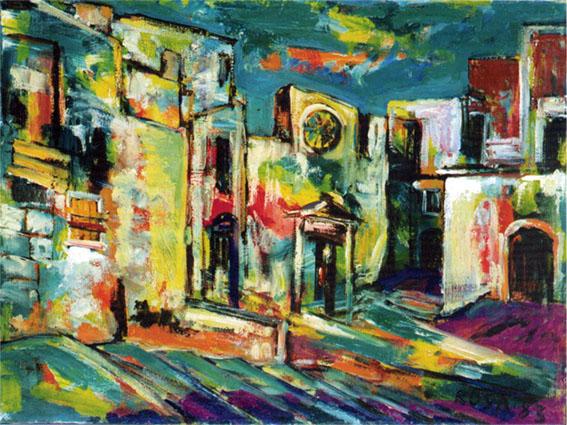 Scorcio di Vieste, 1983 - 80x60