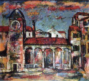 Chiesa a Trogir, 1988 - 120x135