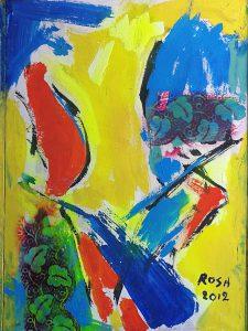 8-Astratto, 2012 - 45x60