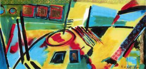 Astratto, 1990 - 101x200