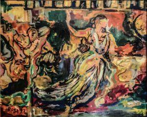 PERGANO - Le Erinni, 1993 - 100x80 cm