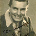Foto con dedica autografa a sua madre - 1945