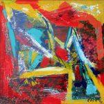 Astratto, 1998 - 100x100 cm