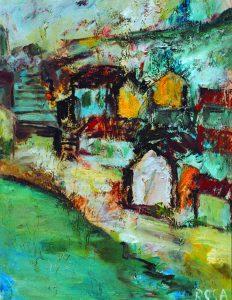 Paesaggio slavo - 48x62 cm