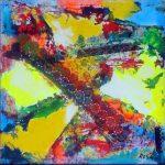 Astratto, 1998 - 99x99 cm