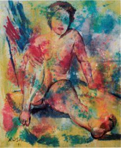 Nudo, 1991 - 97x103 cm