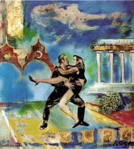 Danzatori, 1994 - 120x100