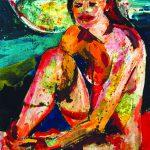 Corpo nudo di donna