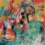 Nudo, 1996  - 60x60 cm