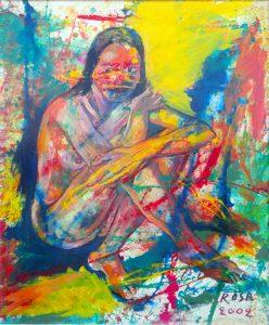 Nudo, 2002 - 80X100 cm
