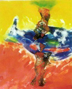 Astratto, 1999 - 100x115 cm