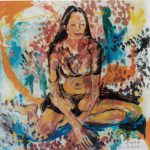 Nudo, 2002 - 100x100 cm