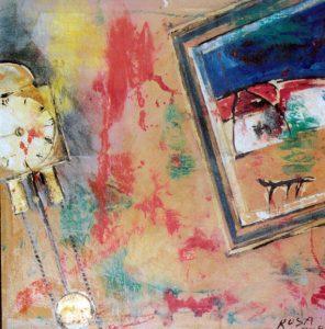Particolare indoor, 2002 - 100x100