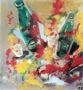 Natura morta, 2002 - 100x100