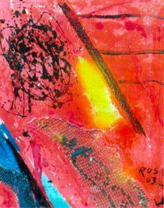 Astratto, 2003 - 50x60
