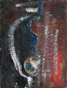 Astratto materico, 1967 - 40x52,5 cm