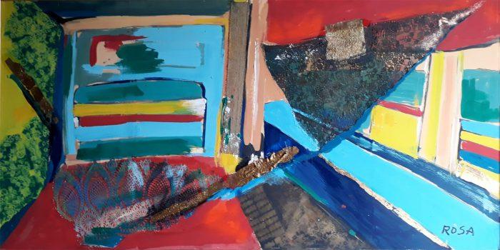 Astratto_06, 1999 - 200 x 100 cm