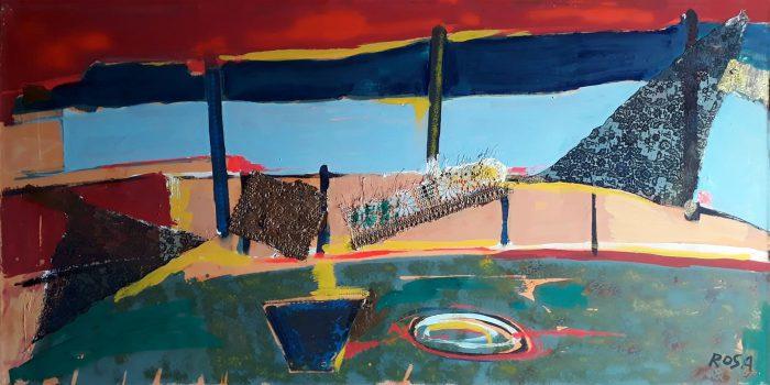 Astratto_07, 1999 - 200 x 100 cm
