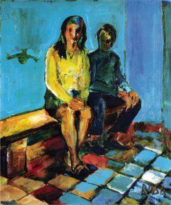 Attesa della roba, 1968 - 50x60 cm