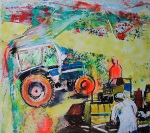 Il cantiere, 1999 - 145x125