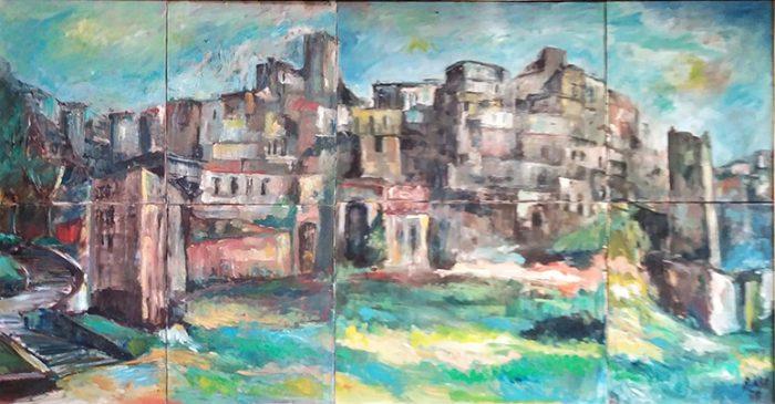 Case a Marino, 1978 - 128x66 cm