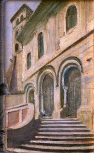 Chiesa di Sant'Erasmo, Veroli - 1945