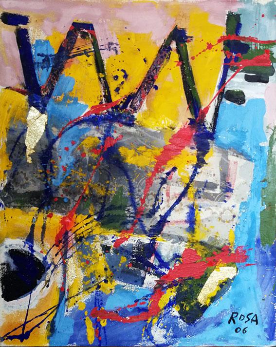Astratto 7/12, 2006 - 80x100